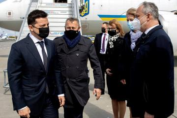 Zełenski przyjechał z wizytą do Warszawy