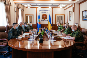 National Guard outlines plans for deepening cooperation with Swedish Armed Forces