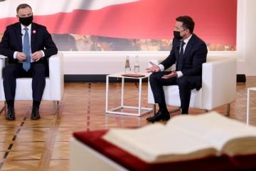 Zełenski jest przekonany, że między Ukrainą a Polską w przyszłości nie będzie problemów historycznych