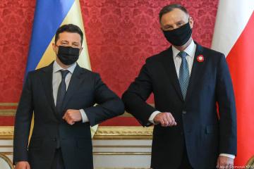 Ukrainę należy postrzegać w UE jako równorzędnego partnera - Zełenski