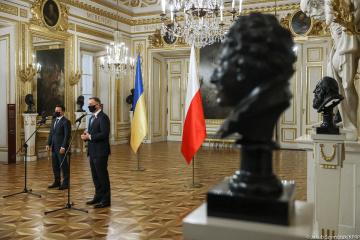 Ukraina i Polska podpisały deklarację w sprawie europejskiej przyszłości Kijowa