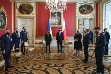 L'Ukraine et la Pologne ont signé une déclaration sur l'avenir européen de Kyiv