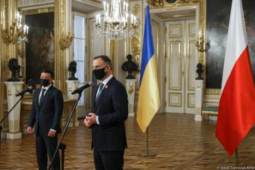 Duda: Polonia siempre apoya a Ucrania y al pueblo ucraniano