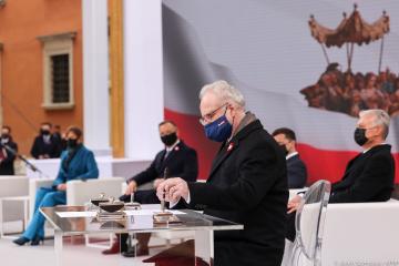 Levits: Occidente debe mantener la solidaridad con Ucrania no sólo con palabras, sino también con acciones