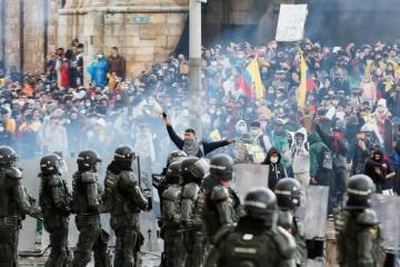 Массовые протесты оставили один из крупнейших городов Колумбии без топлива