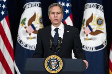US-Außenminister Blinken besucht Ukraine