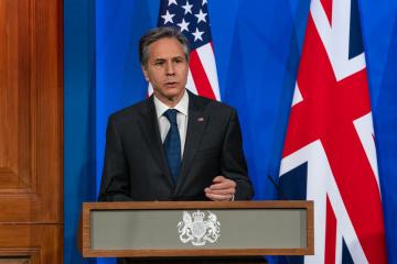 米国務長官、G7外相との全ての会談でウクライナ問題を提起=米国務省