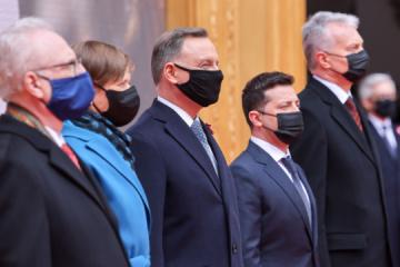 Les Présidents lituanien, polonais, estonien, letton et ukrainien ont signé une déclaration conjointe