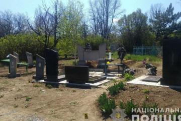 Ostukraine: Mann bei Explosion auf Friedhof nahe Frontlinie getötet