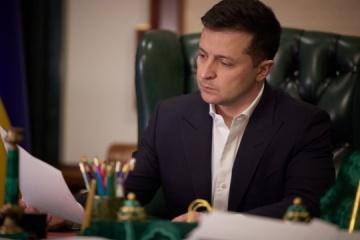 Präsident Selenskyj führt in Wahlumfrage