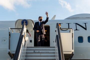 US-Außenminister Blinken in Ukraine eingetroffen