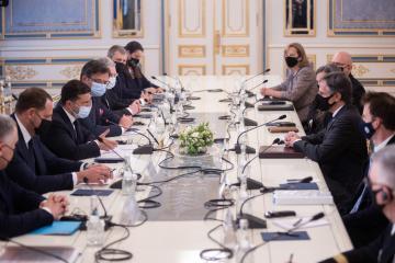 Besetzung ukrainischer Gebiete und Nord Stream 2 - Themen des Gesprächs von Selenskyj und Blinken