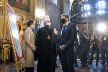 Epifaniy y Blinken discuten la persecución de los creyentes en los territorios ocupados por Rusia