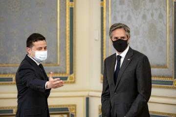 ブリンケン米国務長官のウクライナ訪問