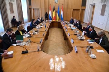 Los ministros de Exteriores de los países del Benelux reiteran su apoyo a la integridad territorial de Ucrania
