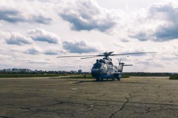 La Garde nationale de l'Ukraine a reçu son troisième hélicoptère Airbus