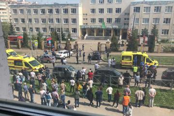 Kasan: Neun Tote bei Schießerei an Schule in Russland