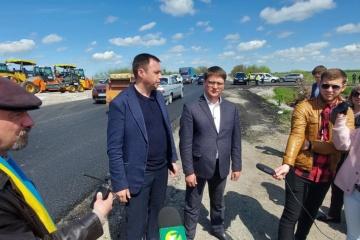 На Запоріжжі завершують ремонт на міжнародній трасі вартістю понад ₴500 мільйонів