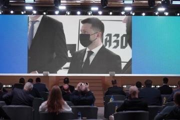 Selenskyj eröffnet Cyberzentrum UA30