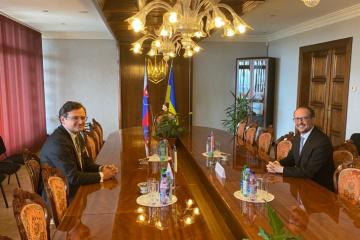 Главы МИД Украины и Австрии обсудили укрепление отношений между странами