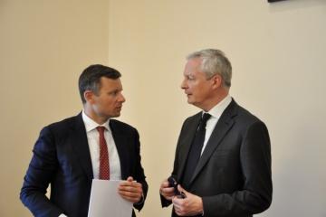 Die Ukraine und Frankreich erörtern Wirtschaftsbeziehungen