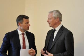 L'Ukraine et la France discutent des relations économiques bilatérales
