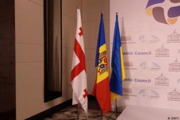 Außenminister Moldaus und Georgiens besuchen am Montag Kyjiw