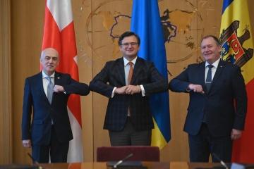 Ukraine, Moldau und Georgien gründen Staatenkoalition für europäische Integration