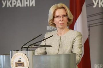 Lettland verurteilt Vorgehen Russlands in Ostukraine und Schwarzmeerregion – Präsidentin der Saeima
