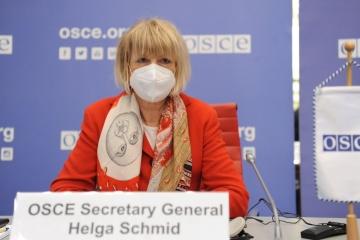 Secrétaire générale de l'OSCE : Les formats de Minsk et de Normandie sont le seul moyen de régler le conflit dans l'est de l'Ukraine
