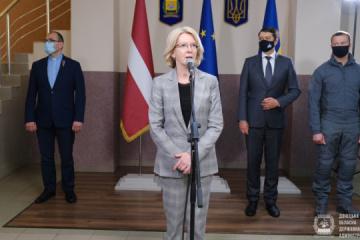 Latvia delivers humanitarian cargo to Donetsk region