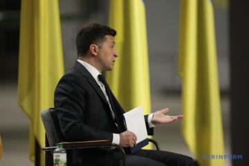 Zełenski przeprowadził konferencję prasową po rozmowach z Bidenem