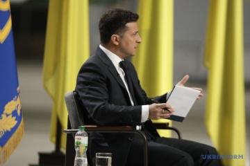 Volodymyr Zelensky : Une levée des sanctions américaines à l'encontre de Nord Stream-2 serait une défaite de Joe Biden