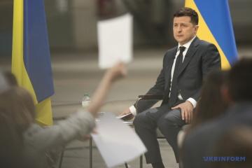 Volodymyr Zelensky : Je suis devenu une sentence pour Porochenko, mais il ne s'est pas rendu compte