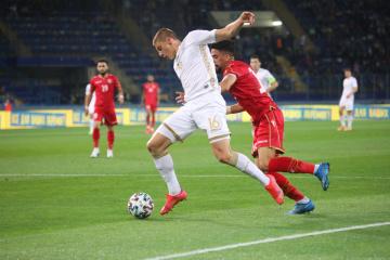 Ucrania empata ante Bahréin en un amistoso