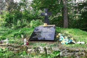 """Pomnik na górze """"Monasterz"""" - Ukraina ma nadzieję na przywrócenie listy poległych żołnierzy UPA"""