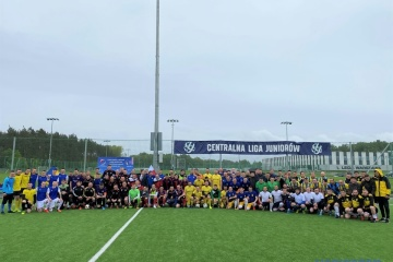 W Polsce odbył się turniej piłkarski dla drużyn złożonych z ukraińskich imigrantów.