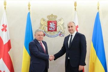 Defense ministers of Ukraine and Georgia agree on cooperation