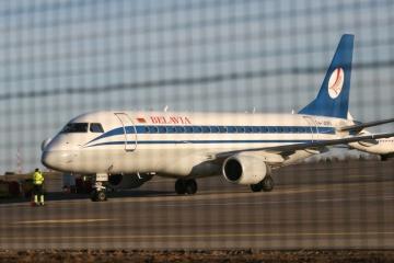 Belavia extiende la suspensión de vuelos a Ucrania hasta el 30 de septiembre