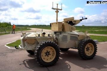Ukrainian army evaluating capabilities of new, domestically developed UGVs