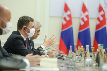 Primer ministro Heger: Eslovaquia interesada en desarrollar la cooperación comercial y energética con Ucrania