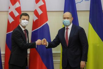 Eduard Heger s'est rendu en Ukraine pour une visite officielle