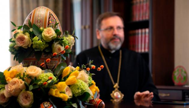 Праздник на фоне карантина: Глава УГКЦ обратился к верующим накануне Пасхи