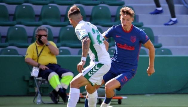 Ла Ліга: «Атлетико» мінімально перемагає «Ельче»
