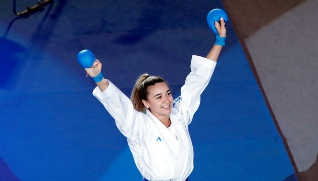 Anzhelika Terliuga wins Karate 1 Premier League in Lisbon