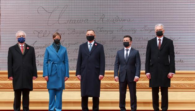 Zelensky agradece a los presidentes por apoyar a Ucrania