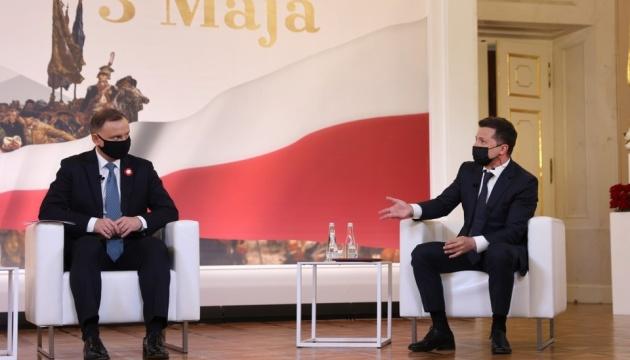 ポーランド大統領、ウクライナとの歴史問題を解決すべきと発言