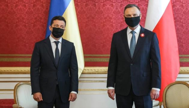 Zelensky y Duda firman una declaración sobre el futuro europeo de Ucrania