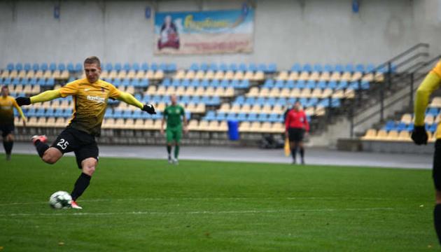 Перша ліга: «Агробізнес» переміг «Полісся» у перенесеному матчі