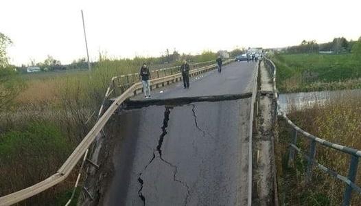 На трасі Львів-Луцьк обвалився міст через Західний Буг